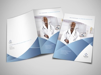 nursing-education-training-brochure-template