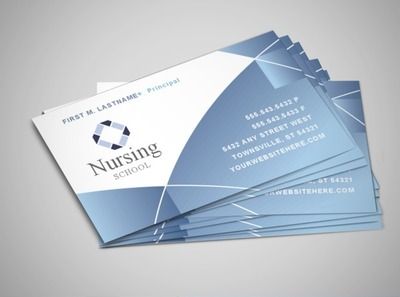 nursing-education-training-business-card-template