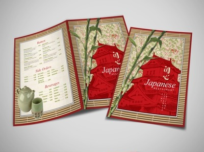 japanese-restaurant-brochure-template