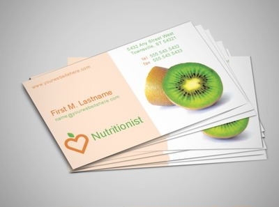 Nutritionist business cards lektonfo nutritionist business cards colourmoves