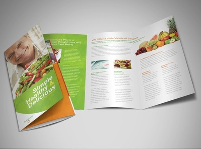 weightloss-and-nutrition-brochure-template