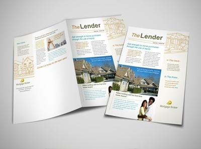 mortgage-lending-newsletter-template