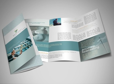money-management-services-brochure-template