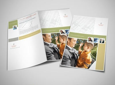 financial brochure templates - document moved