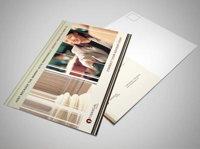 financial-planner-postcard-template