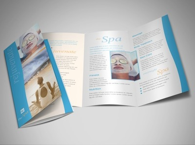 health-relaxation-spa-brochure-template