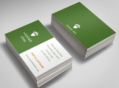 veterinary-service-business-card-template