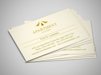 apartment-management-business-card-template