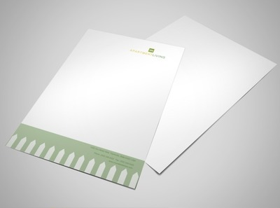 apartment-living-letterhead-template