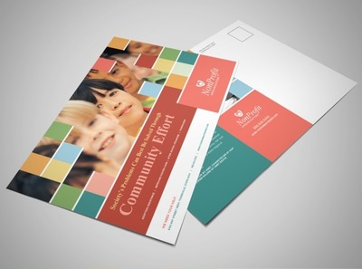 non-profit-childrens-organization-postcard-template