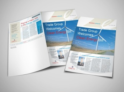 energy-and-utility-company-newsletter-template