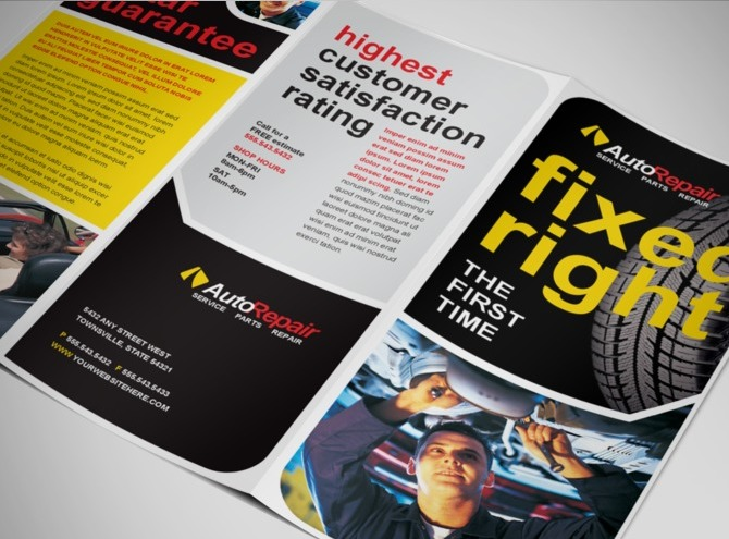 automotive-service-and-repair-brochure-template