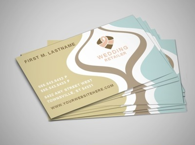 wedding-store-business-card-template