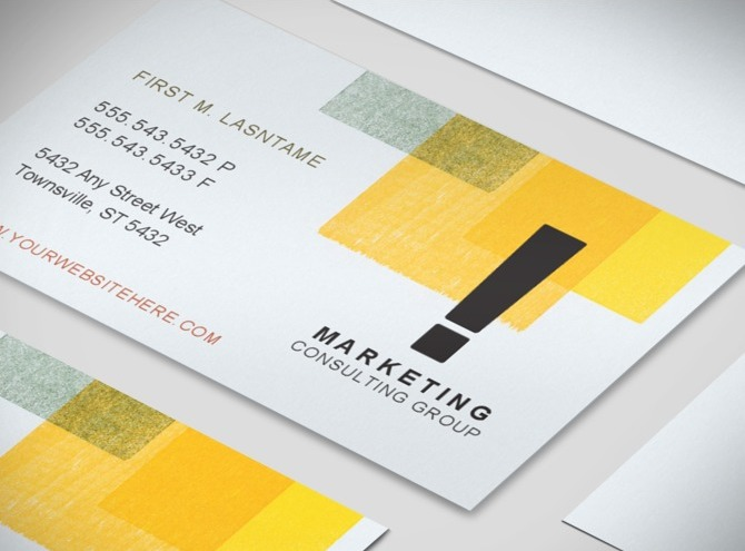 Consulting Business Cards Consultant-business-card