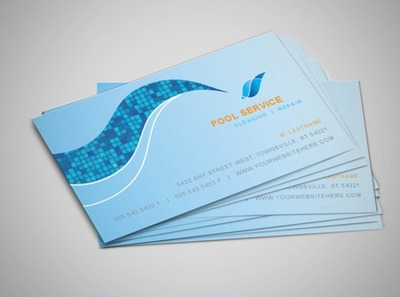 swimming-pool-maintenance-business-card-template