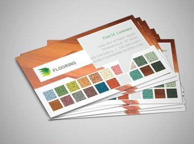 carpet-and-hardwood-floors-business-card-template