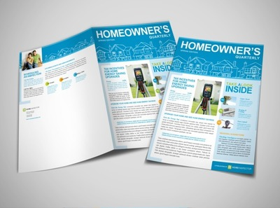 residential-property-inspection-newsletter-template