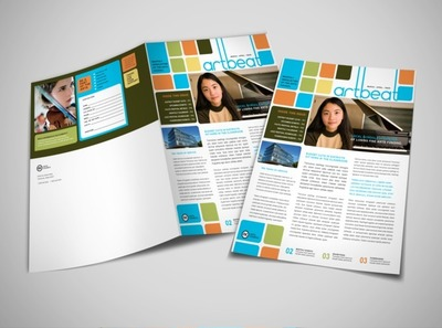 fine-arts-education-newsletter-template