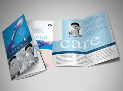 dental-care-services-brochure-template