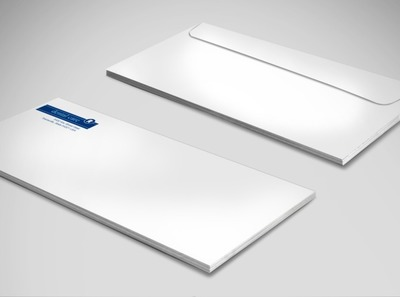 dental-care-services-envelope-template