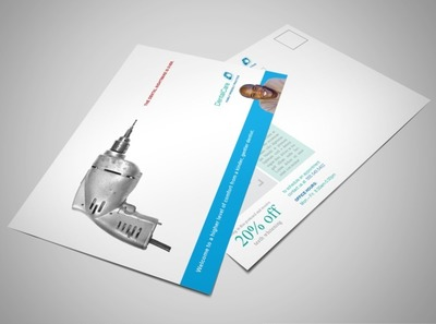 professional-dental-care-postcard-template