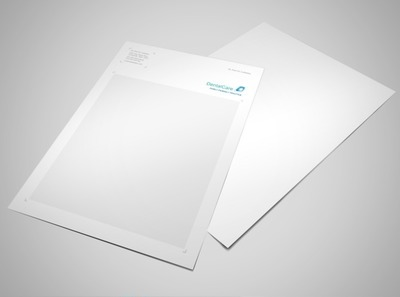 professional-dental-care-letterhead-template