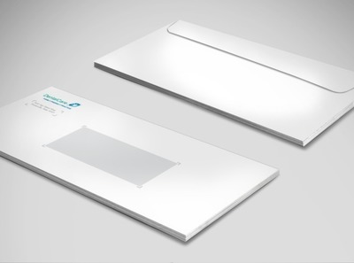 professional-dental-care-envelope-template