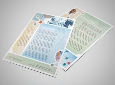 medical health care flyer brochure templates. Black Bedroom Furniture Sets. Home Design Ideas