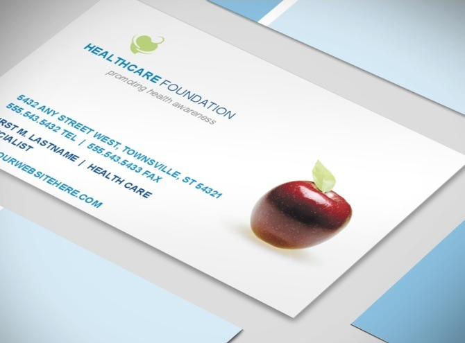 healthcare-administration-and-management-business-card-template