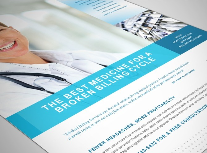 medical-records-flyer-template