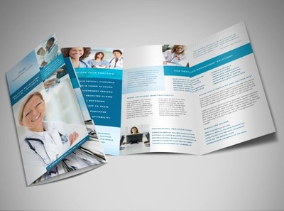 medical-records-brochure-template