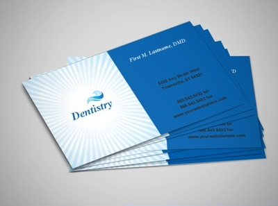 family-dental-office-business-card-template