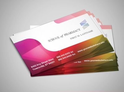 pharmacy-education-business-card-template