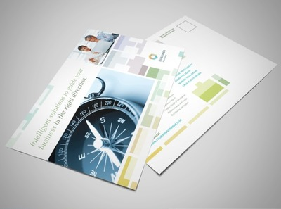 management-consulting-postcard-template