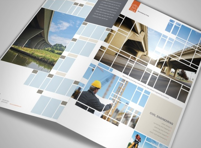 engineering brochure templates - document moved