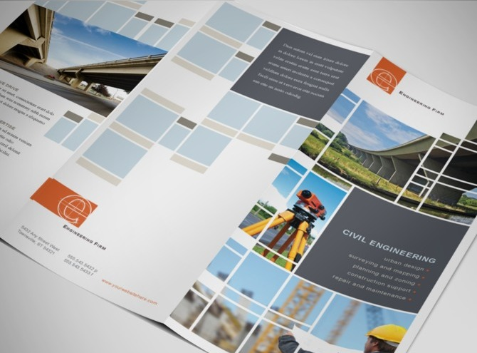 The resource cannot be found for Engineering brochure templates