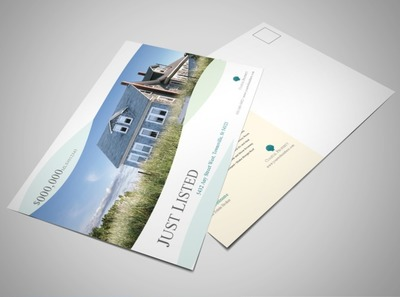 beach-front-property-postcard-template