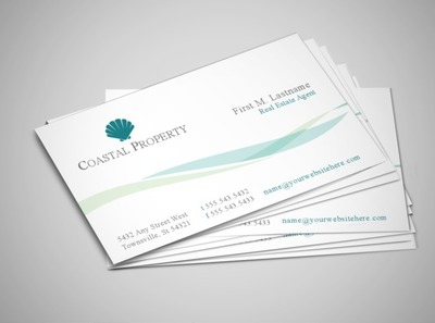 beach-front-property-business-card-template