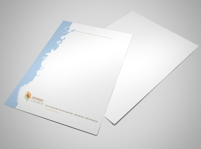 free christian stationery templates .