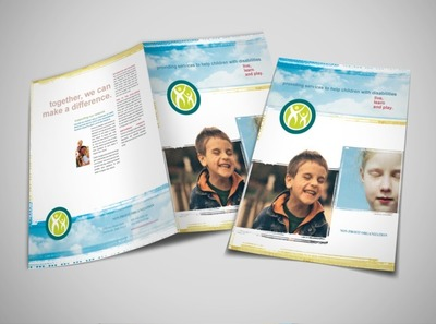 non-profit-for-disabled-children-brochure-template