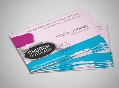 church-outreach-programs-business-card-template
