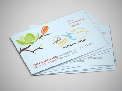floral-business-business-card-template