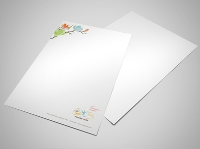 floral-business-letterhead-template