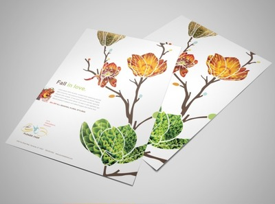 floral-business-flyer-template