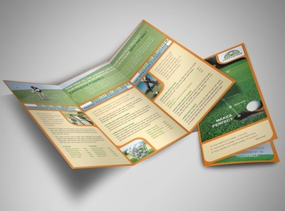 golf-lessons-brochure-template