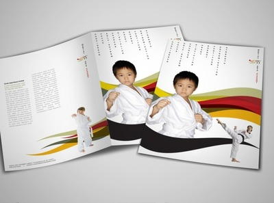 martial-arts-lessons-brochure-template