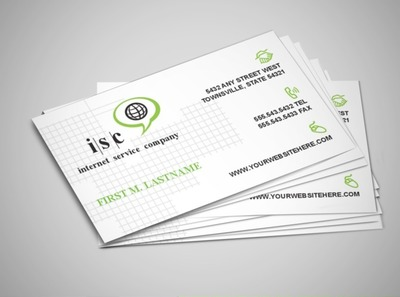 internet-and-computer-company-business-card-template