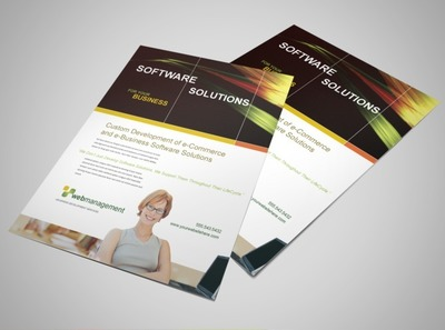 software-design-flyer-template