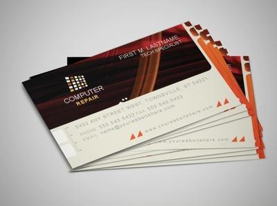 pc-repair-business-card-template