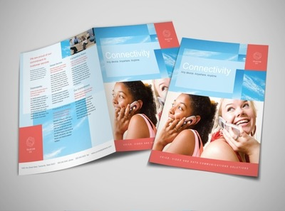 telecommunications-company-brochure-template